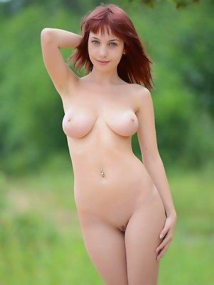 Marvelous booby girl